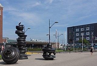 Nijmegen railway station railway station in the Dutch city of Nijmegen