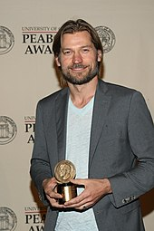 Nikolaj Coster-Waldau at the 71st Peabody Awards in 2012