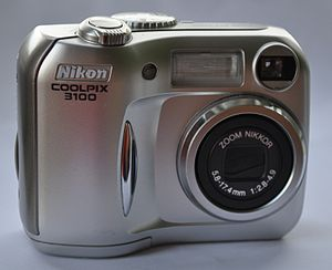 The Nikon Coolpix 3100