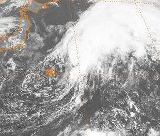 1984 Pacific typhoon season - Image: Nina 1984100100GMS3VS