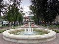 Nisko - fontanna w parku przy Placu Wolności.jpg