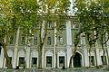 Nizami Museum of Azerbaijan Literature left façade.JPG