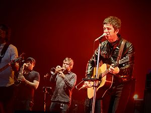 Noel Gallagher's High Flying Birds - Noel Gallagher's High Flying Birds performing in London, 2015.