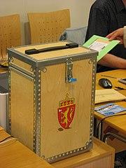 Kommune- og fylkestingsvalg i Norge