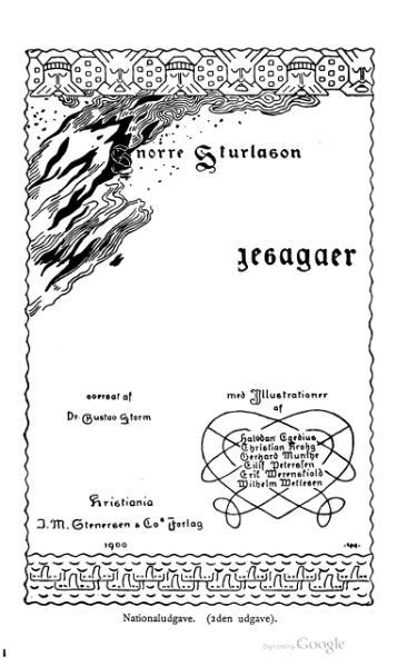 File:Norske Kongesagaer Nationaludgave vol 1 2nd ed.djvu