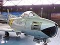 North American F-86 Sabre jet fighter - Αεριωθούμενο μαχητικό αεροσκάφος (27033132375).jpg