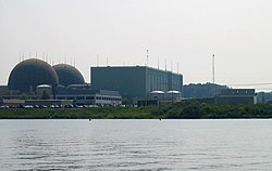 Photograph of North Anna Nuclear Power Plant
