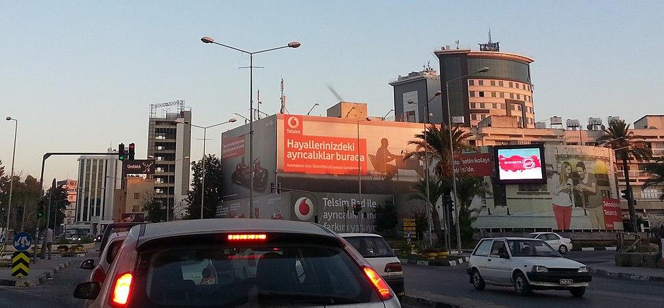 North Nicosia central business district