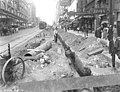 Northern view of 2nd Ave from Union St showing regrade work, Seattle, Washington, August 5, 1914 (LEE 45).jpeg