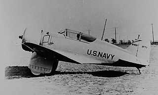 Northrop XFT American 1930s fighter aircraft