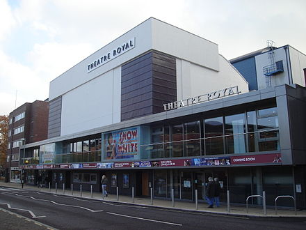 The Theatre Royal, Norwich's largest theatre Norwich Theatre Royal.JPG