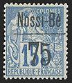 Nossi-Be 75c on 15c 1893.jpg