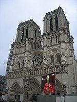 Notre Dame in 2005 09 - funeral of Pope John Paul II.jpg