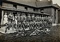 Nottingham; soldiers in World War I, some of them wounded, Wellcome V0030966.jpg