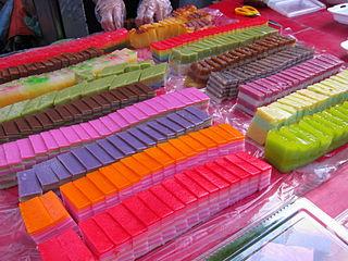 <i>Kuih</i> Southeast Asian snack or dessert foods