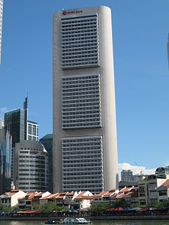 OCBC Centre Office building in Singapore