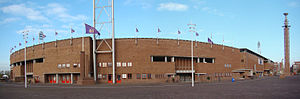 Olympic Stadium (Amsterdam) - Panorama of the stadium