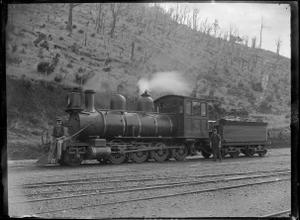 O Class Steam Locomotive NZR 99 2 8 0 Type ATLIB 276921