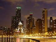 north lake shore drive and the gold coast  chicago
