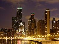 Oak Street Beach in Chicago.jpg