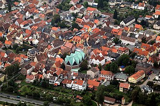 Obernburg - Aerial picture of Obernburg