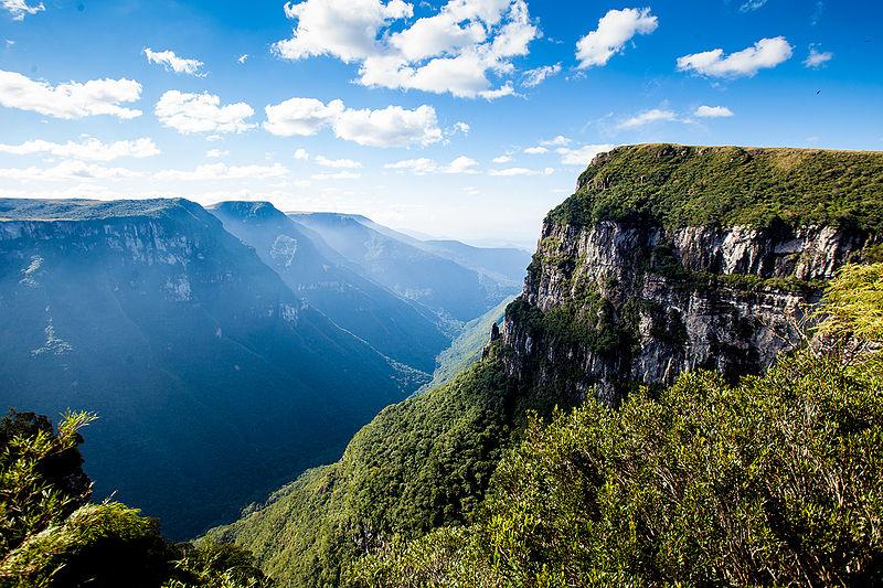 Ecoturismo no Brasil em Santa Catarina