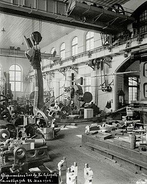 Obukhov State Plant - Obukhov State Plant in 1902