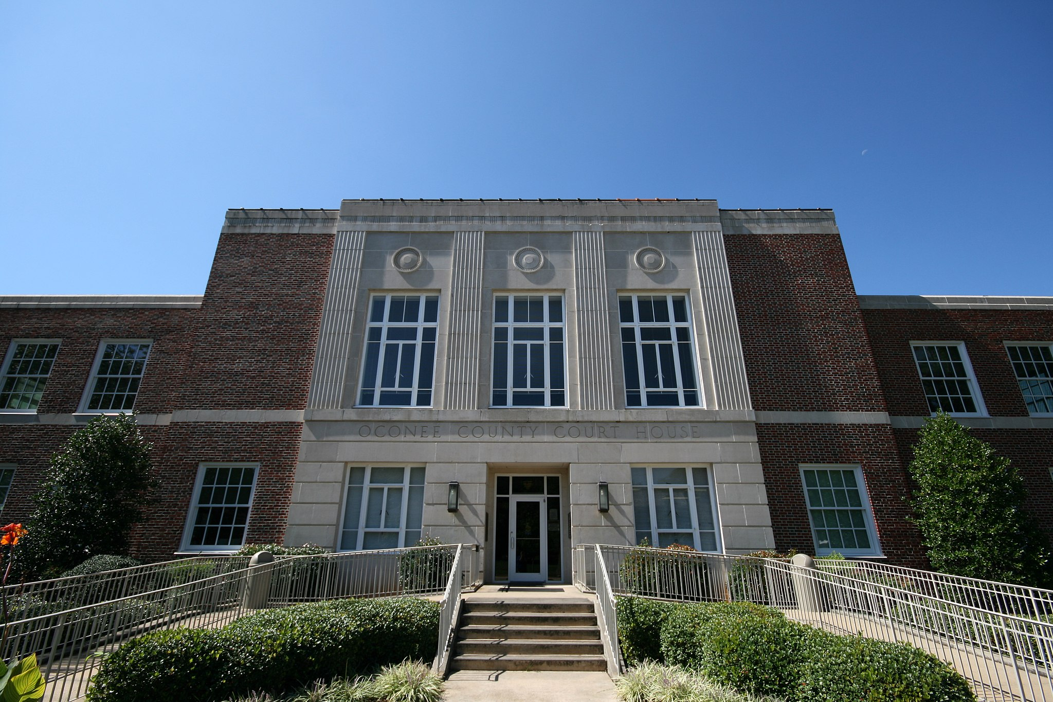 Oconee County Georgia Courthouse