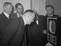 Officiële ingebruikneming televisie-omroep, 2 oktober 1951.jpg