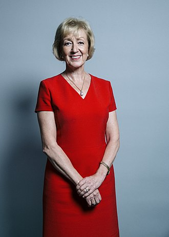 Leader of the House of Commons - Image: Official portrait of Andrea Leadsom