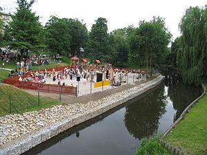 Szprotawa - Image: Ogród Szprotawa