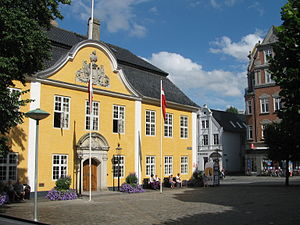 Old City Hall (Aalborg) - Old City Hall view from Gammeltorv