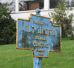 Official logo of Old Concord, Pennsylvania