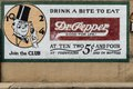 Old Dr. Pepper advertising sign on a downtown building in Pittsburg, Texas LCCN2014630262.tif