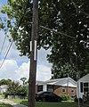 Old Jefferson Utility Pole street signage July 2017.jpg