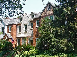 Woodley Park, Washington, D.C. - Houses in the historic district