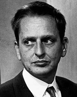1927 in Sweden - Olof Palme, prime minister 1969-76 and 1982-86.