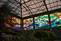 One corner of of the magnificent stained glass inside the Cosmovitral, Toluca, Mexico..jpg