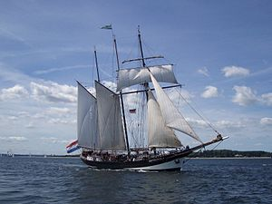 Oosterschelde (ship) - Image: Oosterschelde Kieler Foerde