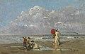 Op het strand, Périclès Pantazis, 19de eeuw, Koninklijk Museum voor Schone Kunsten Antwerpen, 2617.jpg