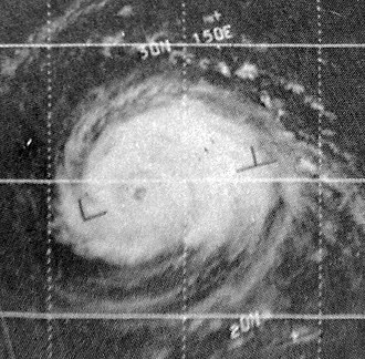 1967 Pacific typhoon season - Image: Opal Sep 91967ESSA3