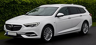 Opel Insignia mid-size/large family car manufactured by Opel