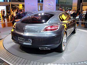Opel Insignia - Image: Opel Insignia rear
