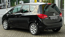 Opel Meriva B 1.3 CDTI Edition rear 20100722.jpg
