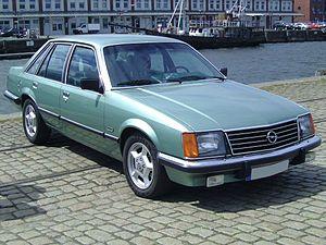 Opel Senator - A first generation Opel Senator