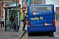 Optare Solo YJ07 EFX Leicester HumberstoneGate rear.jpg