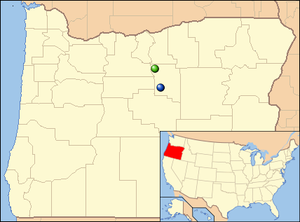 Oregon is a northwestern U.S. state. The park is in the north-central part of the state.