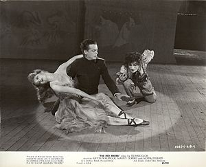 "The Red Shoes (1948 film) - Original publicity still for the film ""The Red Shoes."" From The Red Shoes (1948) Collection at Ailina Dance Archives."