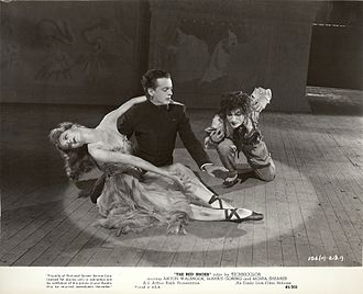 "The Red Shoes (1948 film) - Original publicity still for the film ""The Red Shoes"". From The Red Shoes (1948) Collection at Ailina Dance Archives."