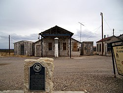 Orla, Texas in 2008